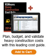 Heavy Construction Cost Data Bundle 2014