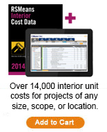 Interior Cost Data Bundle 2014