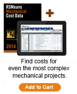 RSMeans Mechanical Cost Data Bundle 2014